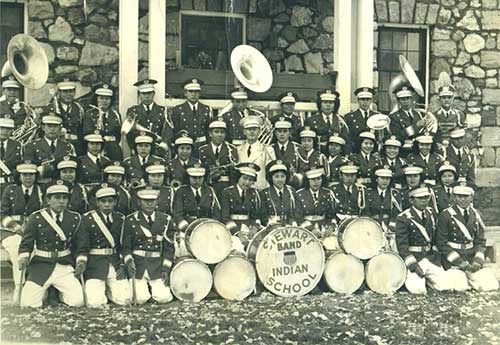 Stewart Indian School Band