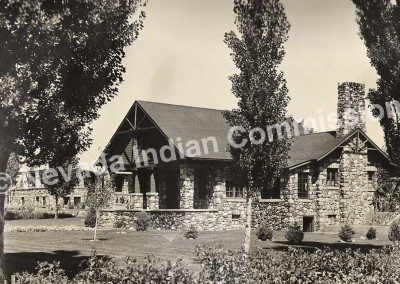 Stewart Indian School Administration Building - Date Unknown