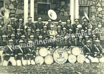 Stewart Indian School Band - Date Unknown